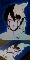 Bleach Ulquiorra Painting by iareawesomeness