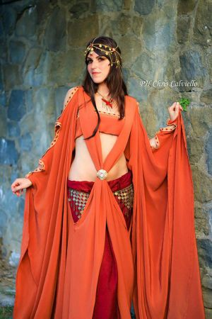 Ellaria Sand cosplay - second version 2 by Elisa-Erian