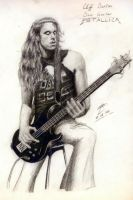 Cliff Burton by muday1369