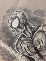 SPIDERMAN-Tonal Sketch by shaotemp