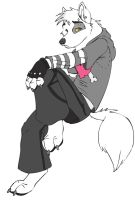 Commision for CoolWolfKid1230072 by shireneko-the-ocelot