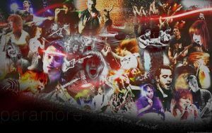 Paramore Live- wallpaper by Little--Decoy