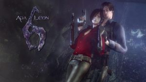 Ada And Leon Wallpaper by Rastifan