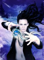 Lokis spell by AnnGeea