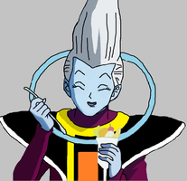 Whis Drawing by PikachuStar93