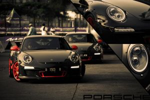 Twin Porsche by Marshal91
