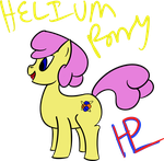 Helium Pony by ShadeRyuInari