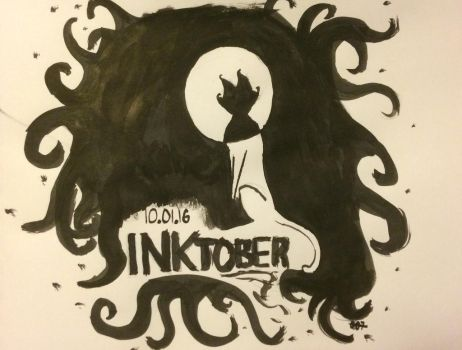 Inktober!- Day 1 by shasashadrax