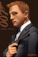 Daniel Craig by peaceonearth888