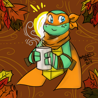 Cute Scarves And Warm Drinks by Nayhed