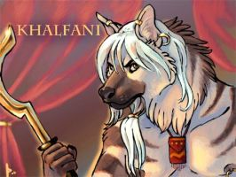 Khalfani Badge by thornwolf