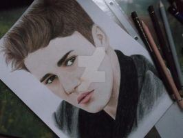 justin bieber drawing by CanadianSwag97