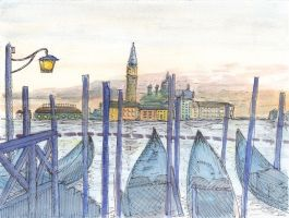 Venice: Another Watercolour by imfromdunman