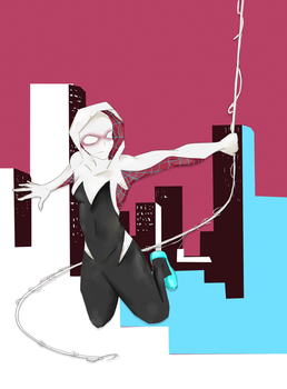 Spider Gwen by kimirawrr