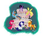 [CM] MLP Cake Party by heyitsmyles