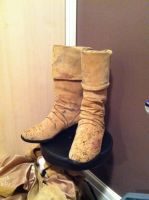 Jack Sparrow cosplay boots finished by jobiwan