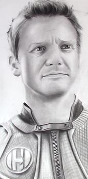 Jeremy Renner Portrait by AnthonyParenti