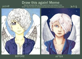 draw this again meme by InAnOrdinaryWay