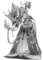 Lich Sketch by gildeneye