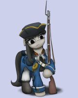 Colonial Militia Octavia by anearbyanimal