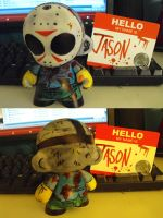 Munny: Jason Voorhees by ScarecrowArtist