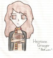 Hermione Granger by NathanielApple