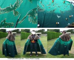 lady loki cape by rainbowKara