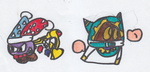 Marx and Magolor: the dynamic duo by Cooliopyro