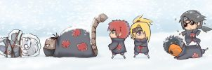 Akatsuki Winter Fun by FancyPancakes