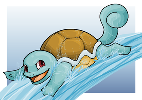 Squirtle by Dinaria