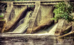 Hydroelectric power station by Flaeger