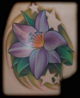 lilly tattoo by exilink
