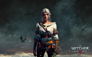 Ciri wallpaper by Scratcherpen