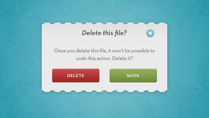 SIMPLE CREATIVE MODAL POPUP WINDOW by FreePSDDownload