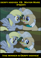 Derpy hooves by Cogs-Fixmore
