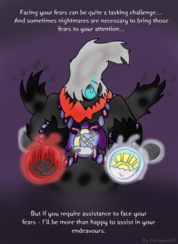 Pokemon Tales - Phantomile the Darkrai by Duckyworth