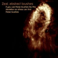 Zeal Abstract Brushes by thedobofdob
