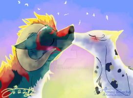 I will always be with you by JB-Pawstep