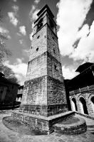 Bell Tower in Metsovo by GlueR