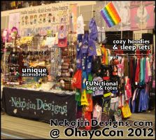 OHAYOCON 2012 by nekojindesigns