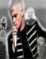 Gerard Way Black Parode by angelsoflight