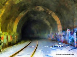 Tunnel painting by photoman356