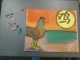 Chinese Zodiac - The Rooster by Konack1