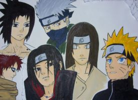 My fave Naruto characters - by DasJulschn