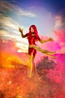 Phoenix Jean Grey cosplay by shproton