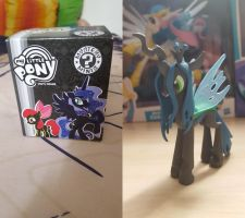 Queen Chrysalis figurine (My Little Pony) by cedricc666