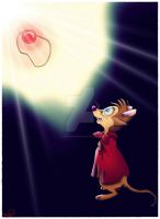 Brisby with her magic Stone by Skippydippi