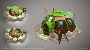 Hunter's hut by ogami3d