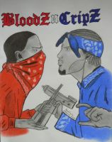 bloods and crips by M1988