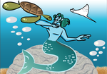 GBG Sneak Peek: The Little Merman by joyhorse13